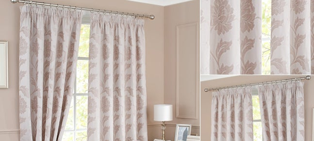 Cream Windsor Curtain Collection