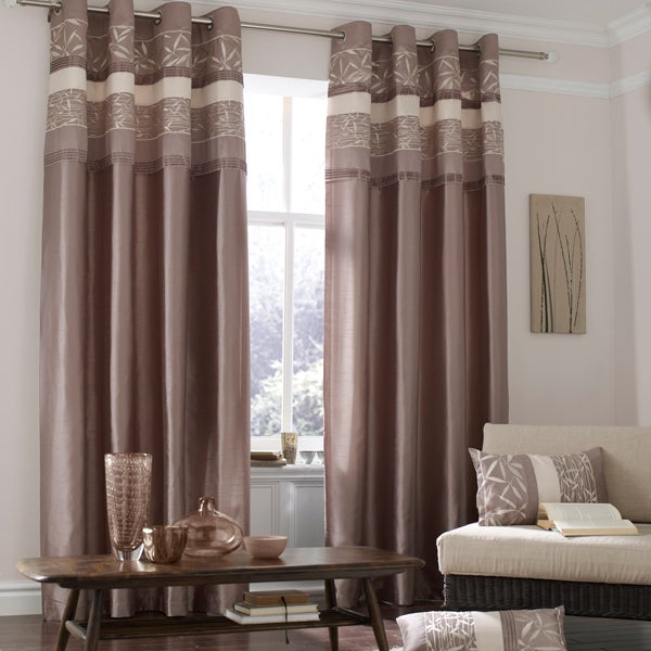 Natural Bamboo Curtain Collection