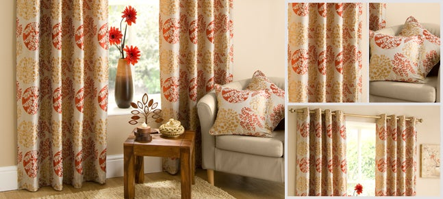 Spice Harmony Curtain Collection