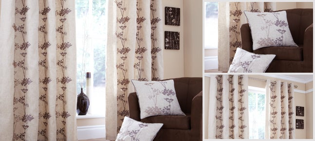 Natural Lily Curtain Collection
