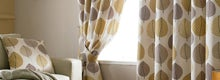Ochre Regan Curtain Collection