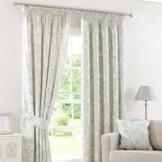 Duck Egg Country Garden Curtain Collection