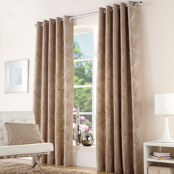 Natural Atlanta Curtain Collection