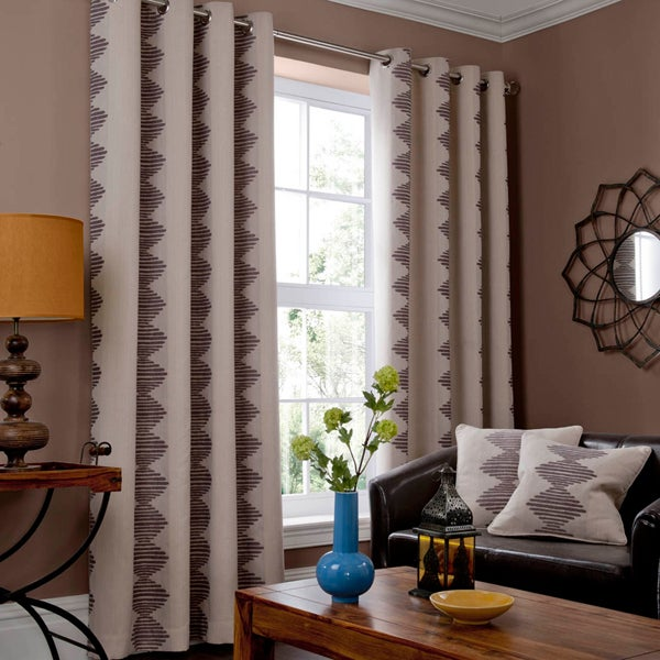 Natural Tabora Curtain Collection