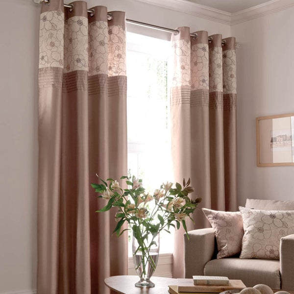 Natural Yasmine Curtain Collection