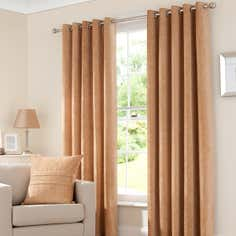 Gold Chenille Curtain Collection