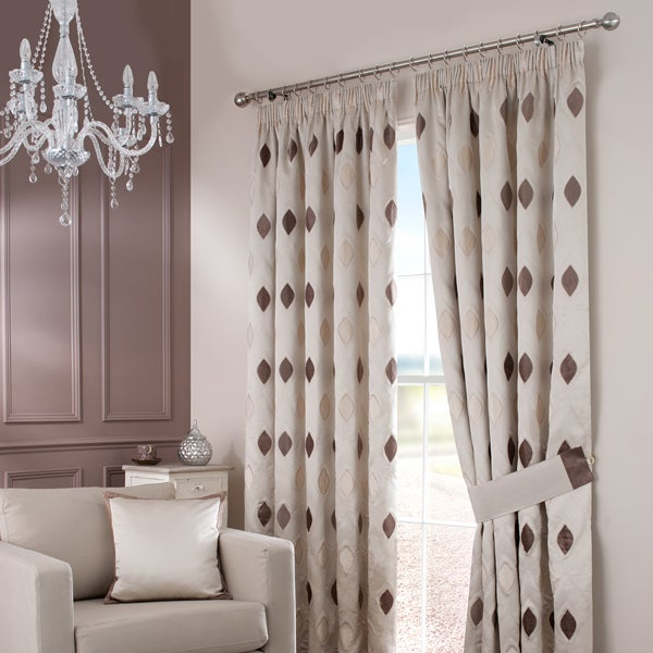 Natural Claridge Curtain Collection