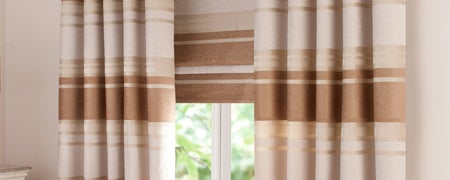 Biscuit Portobello Curtain Collection