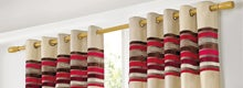 Red Albury Curtain Collection