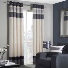 Charcoal Alban Curtain Collection
