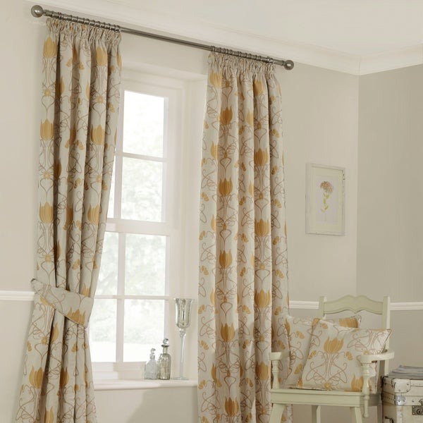 Gold Gatsby Curtain Collection