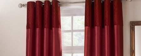 Red Opulence Curtain Collection