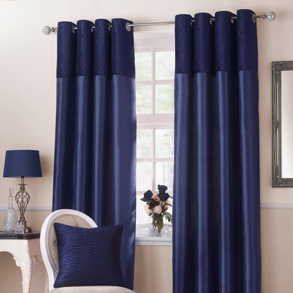 Midnight Blue Opulence Curtain Collection
