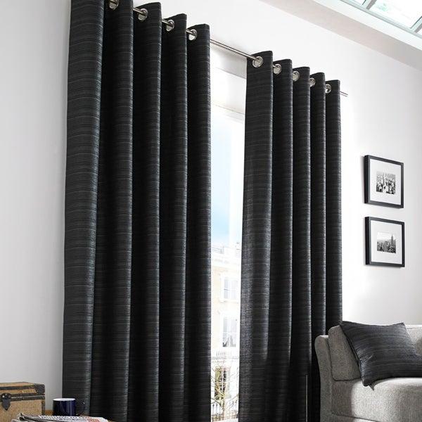 Black Urban Curtain Collection