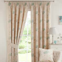 Teal Amelia Curtain Collection