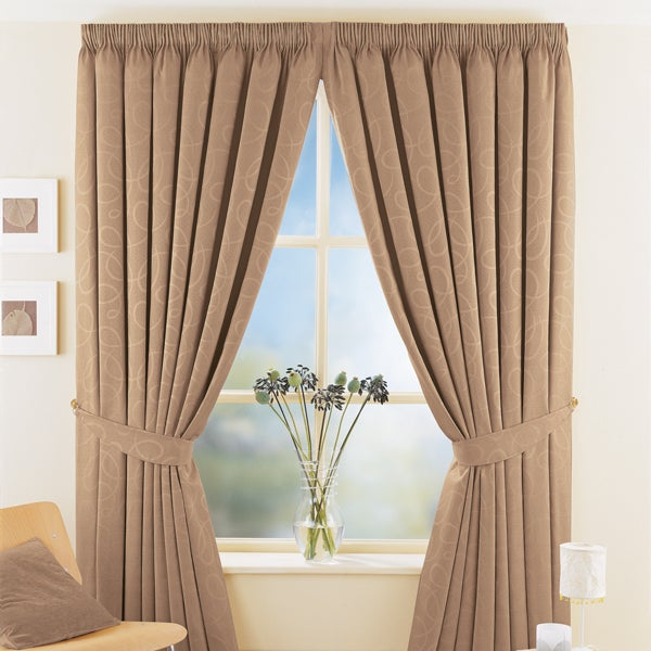 Mocha Toledo Curtain Collection