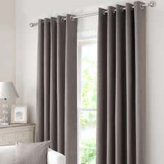 Waters and Noble Stone Solar Eyelet Curtain Collection
