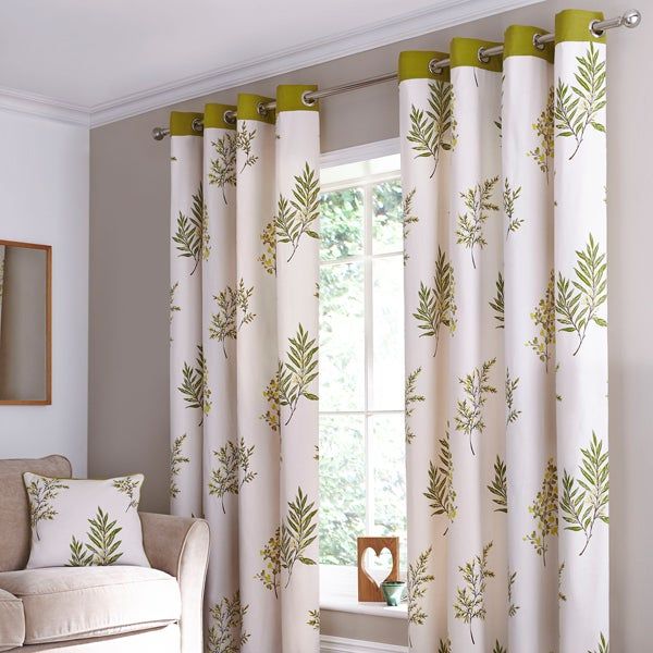 Green Pennine Curtain Collection