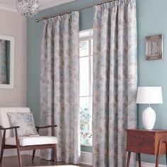 Duck Egg Rosa Curtain Collection