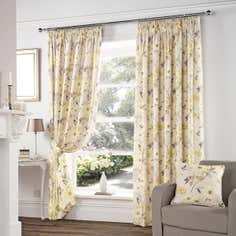 Yellow Vivien Curtain Collection