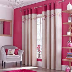 Pink Juliet Curtain Collection