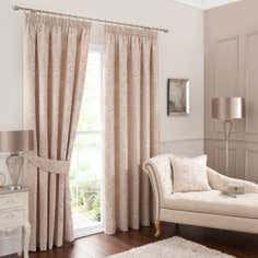 Gold Bloomsbury Curtain Collection