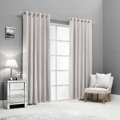 Hotel Silver Lazzaro Curtain Collection