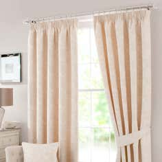 Cream Marsala Curtain Collection