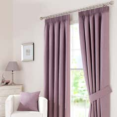 Mauve Solar Curtain Collection