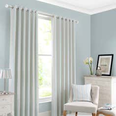 Duck Egg Holkham Stripe Curtain Collection