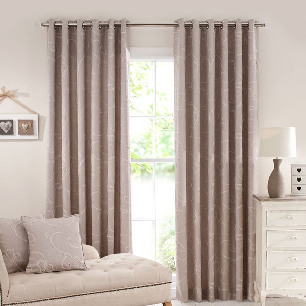 Natural Tuscany Curtain Collection