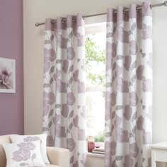 Mauve Lydia Curtain Collection