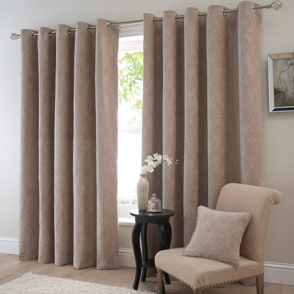 Gold Oakham Curtain Collection