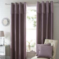 Mauve Opulence Curtain Collection