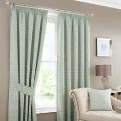 Duck Egg Camilla Curtain Collection