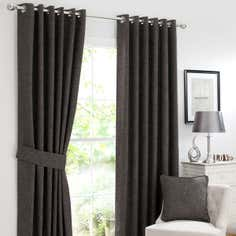 Slate Lorenza Curtain Collection