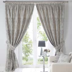 Charcoal Novello Curtain Collection