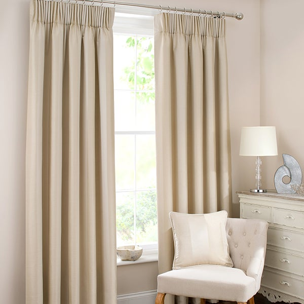 Natural Monaco Curtain Collection