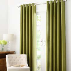 Green Dakota Eyelet Curtain Collection