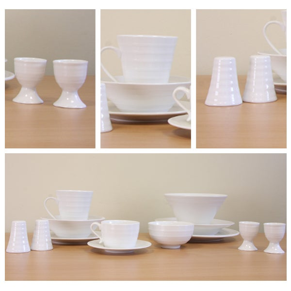 Pausa Ripple Dinnerware Collection