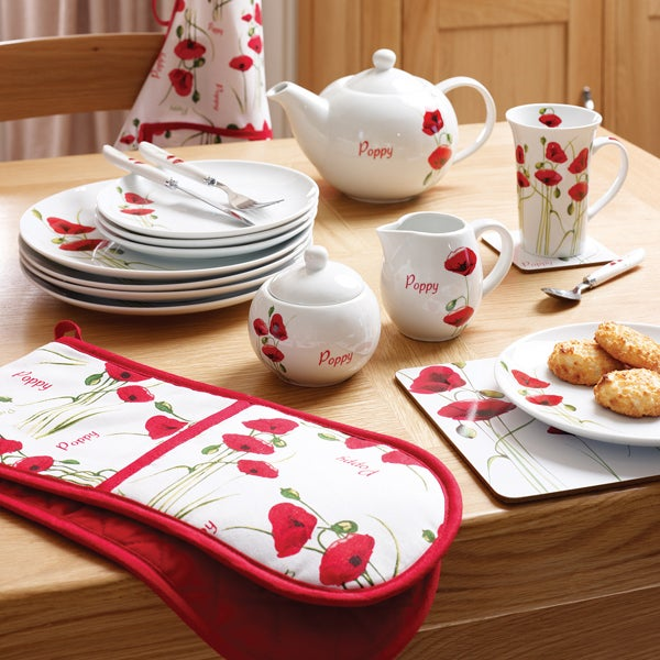 Poppy Dinnerware Collection