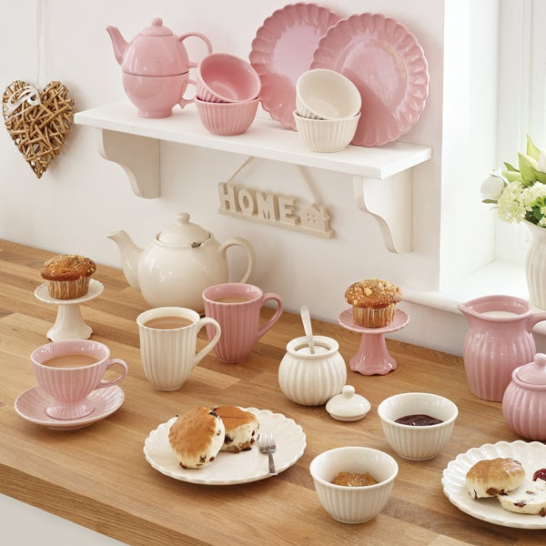 Rayware Pink Afternoon Tea Dinnerware Collection