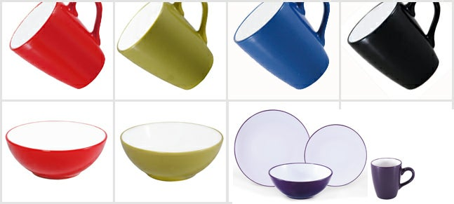 Brit Pop Coupe Dinnerware Collection