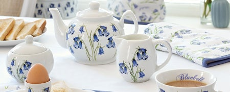 Bluebells Dinnerware Collection