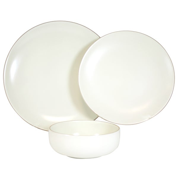 Cream Monaco Dinnerware Collection