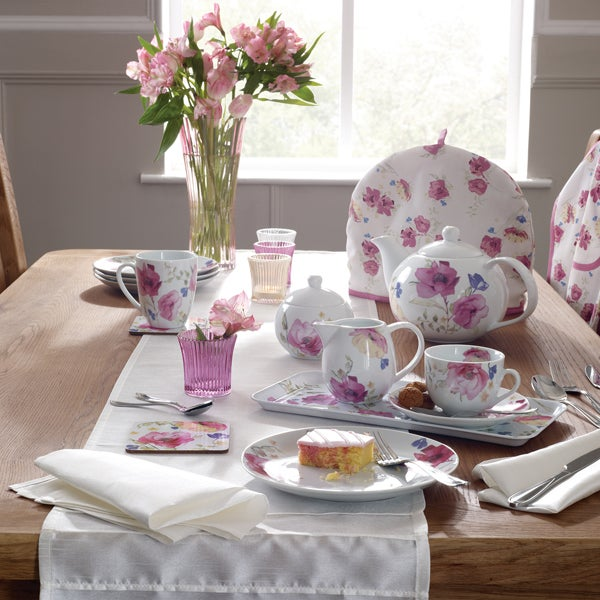 Watercolour Floral Dinnerware Collection