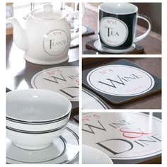 Vintage Tea Dinnerware Collection