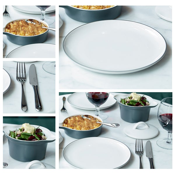 Gordon Ramsay White Bread Street Dinnerware Collection