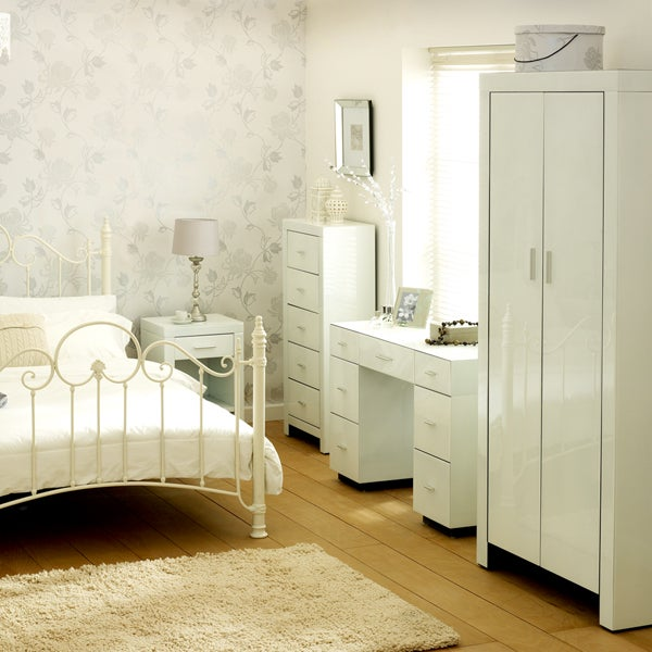 Venetian White Bedroom Furniture Collection