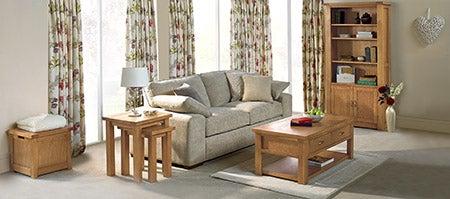 Richmond Oak Living Furniture Collection Dunelm
